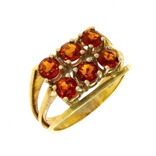 Ring 585/- Gelbgold mit Citrin