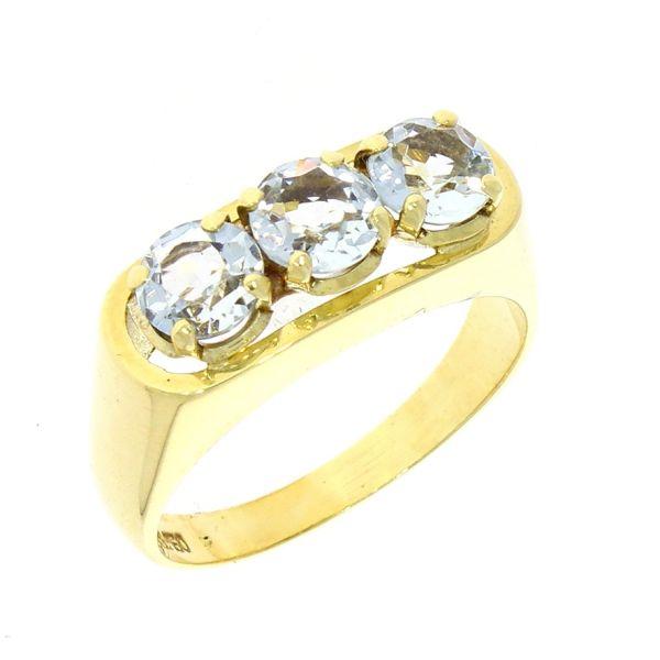 Ring 585/- Gelbgold mit Topas