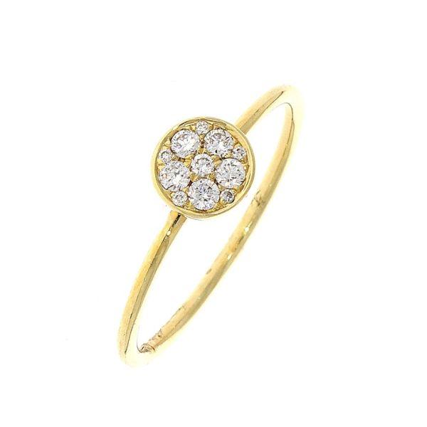 Ring 585/- Gelbgold mit Brillanten 0,15ct