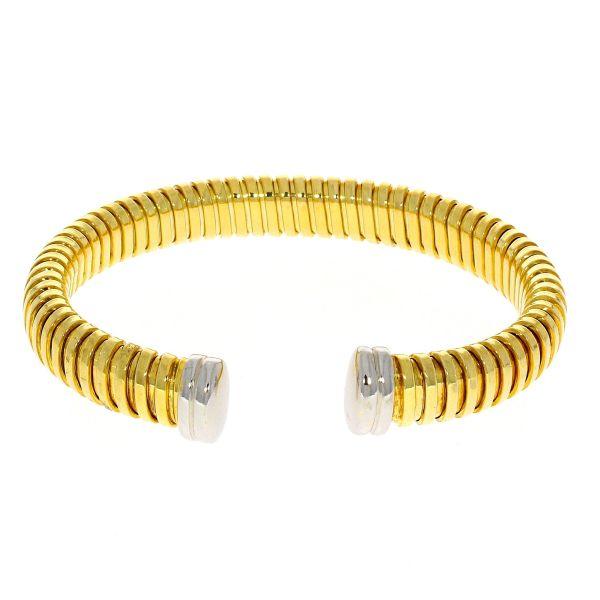 Armreif 925/- Silber 18kt vergoldet