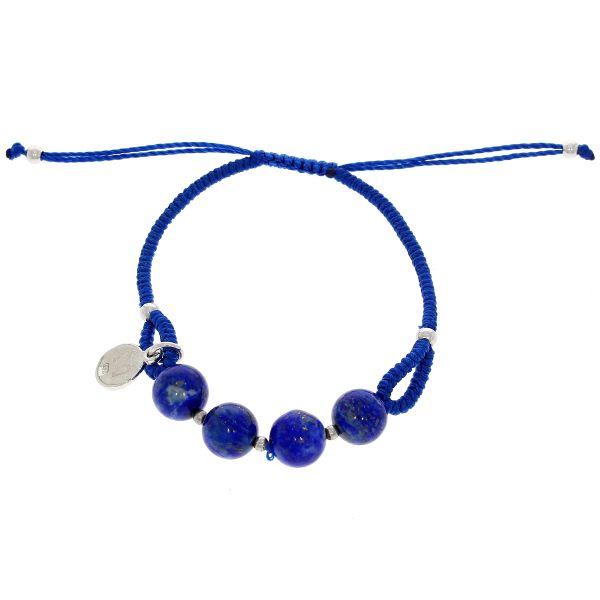 Marina Garcia Armband Stoff & Farbstein verschiedene Farben